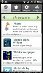 aFreeware Latest Apps - Android Freeware App