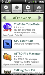 aFreeware Featured Apps - Android Freeware App