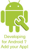 Are you Android Developer? Submit your Game or App here.