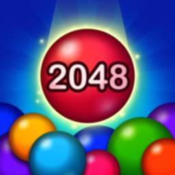 Image of 2048 Merge Bubbles!