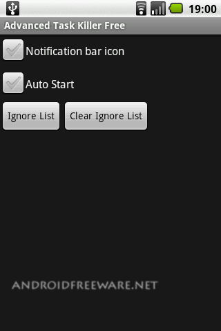 Advanced Task Killer Free is a Task Manager for Android phones