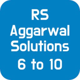 Image of RS Aggarwal Solutions Maths 6 to 10