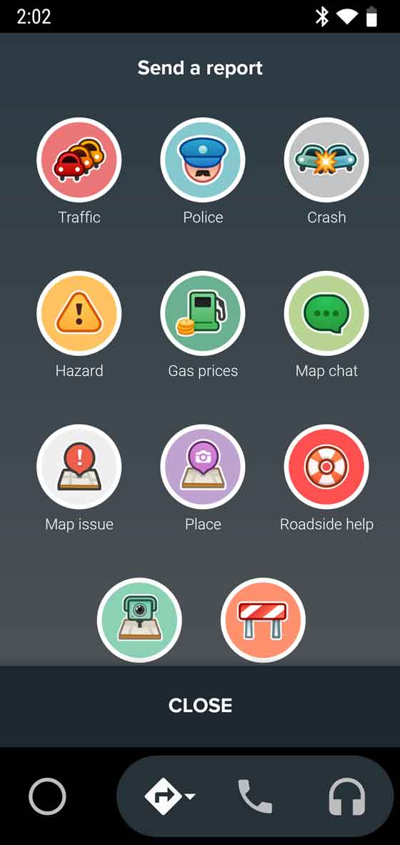Seamless navigation with Google Maps or Waze