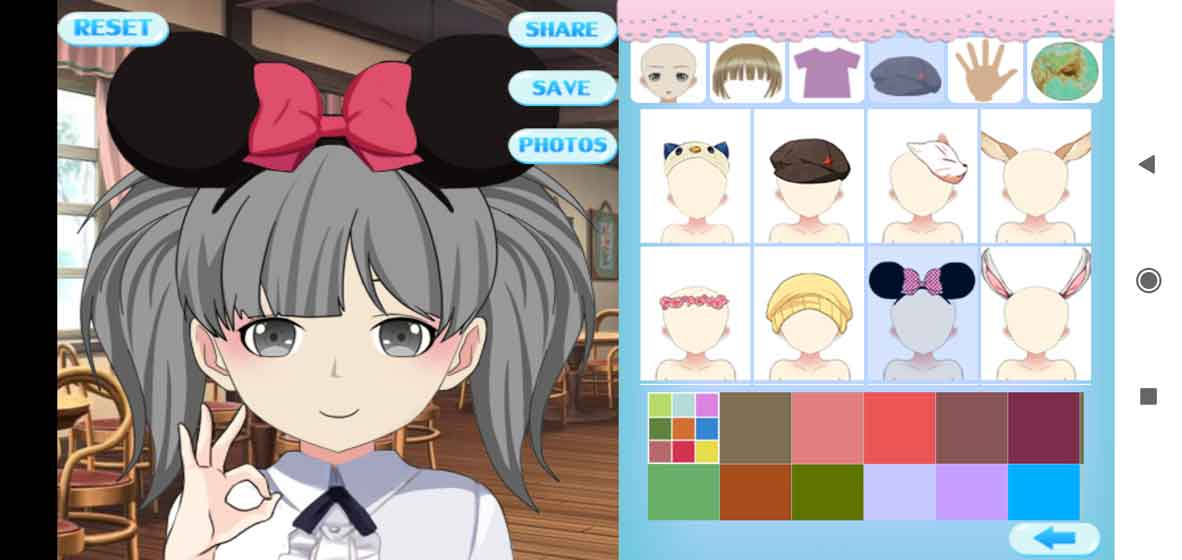 Anime Avatar Studio screenshot 2