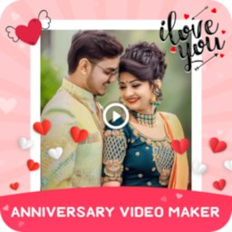 Image of Anniversary Video Maker with Song & Music