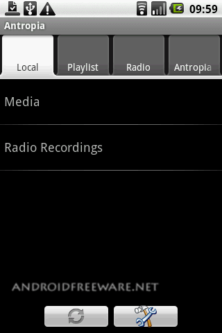 Antropia ist an advanced Media Player for playing audio and video files, playing and saving Internet-Radio-Streams