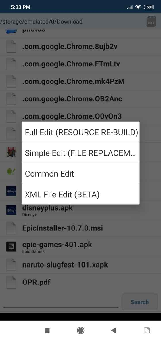 APK Editor screenshot 2