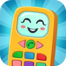 Image of Baby Phone for Kids. Learning Numbers for Toddlers