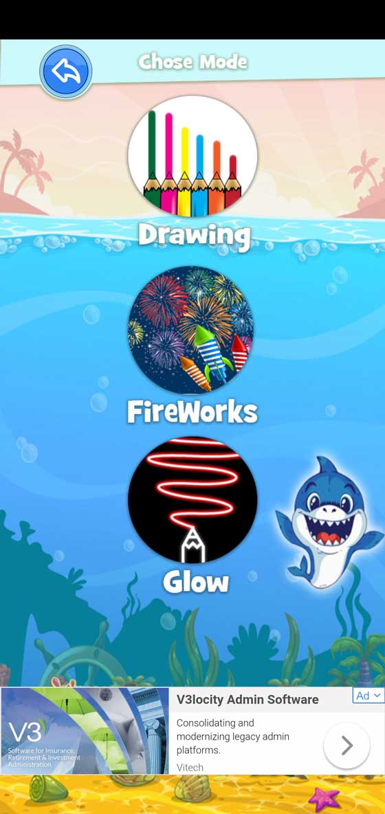 Baby Shark Coloring screenshot 2