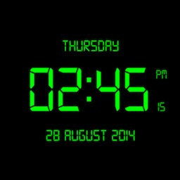 LED Digital Clock Live Wallpaper icon