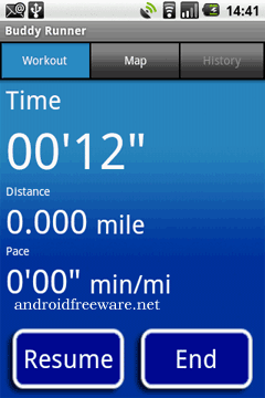 Buddy Runner provides the capabilities of an expensive GPS enabled personal trainer on your Android phone.