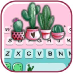 Image of Cactus Garden Keyboard Theme