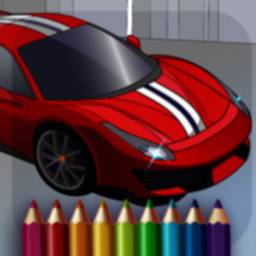 Image of Cars Coloring World