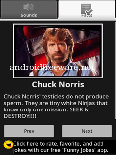 Chuck Norris Facts Screenshots Chuck ...