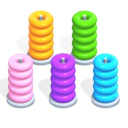 Image of Color Hoop Stack