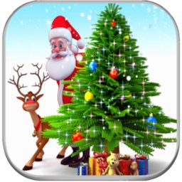 Image of 3d Merry Christmas wallpaper 🎅🎄