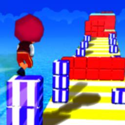 Image of Cube Tower Stack 3D