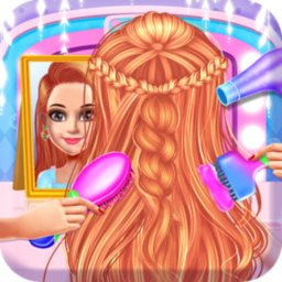Image of School Girls Hairdo braid hair Style Makeup Artist