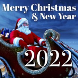 Image of Merry XMAS Wishes Messages & Happy New Year 2021