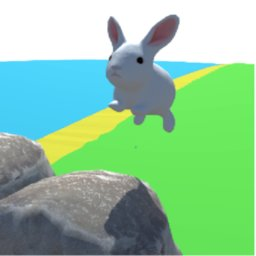 Image of Hopping Bunny