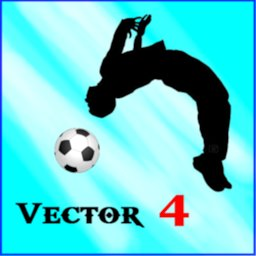 Image of Vector 4 parkour soccer