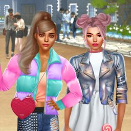 Image of Stylish College Girls Makeover