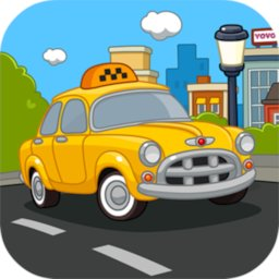 Taxi for kids icon