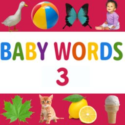 Image of My First Words: Baby learning apps for 2 year old