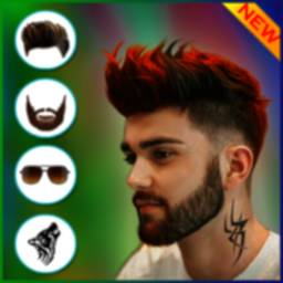 Image of Hairstyle for Men with beard and Haircut style