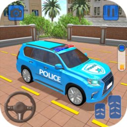 Image of Police Jeep Spooky Stunt Parking 3D