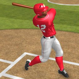 Image of Baseball Game On