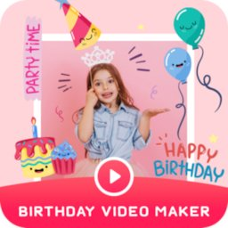 Image of Birthday Video Maker with Song and Name