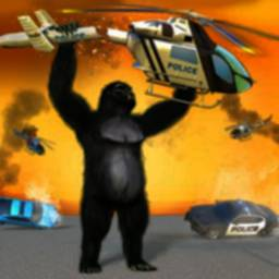 Image of Crazy Gorilla Smash City Attack Prison Escape Game