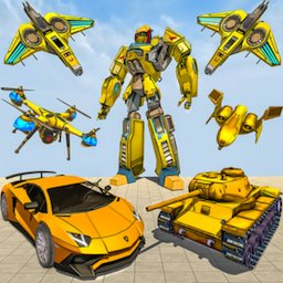 Image of Drone Robot Car Game