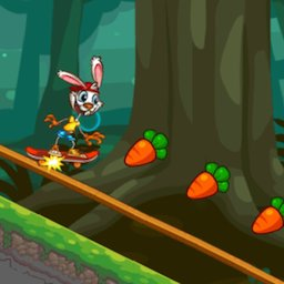 Image of Rabbit Skate Offline Game