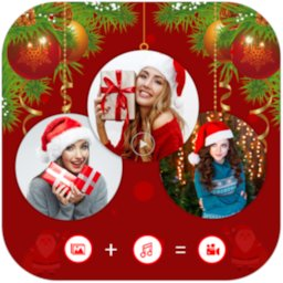 Christmas Video Maker With Music icon