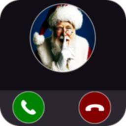 Image of Santa Claus North Pole Video Call 2021