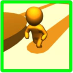 Color Man 3D Race Run icon