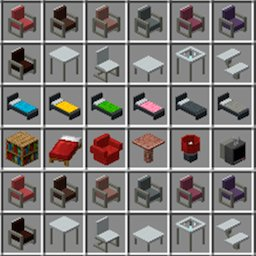 Image of Furniture for Minecraft