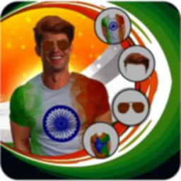Indian Flag15 Aug Photo Editor icon