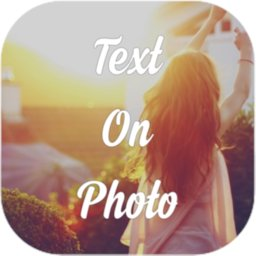 Image of Text On Photo Editor (Add Text On Image, Picture)