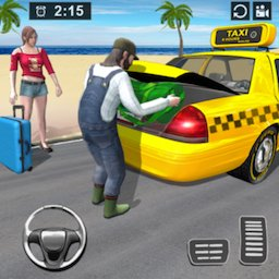 Image of Modern Taxi Drive Parking 3D Game