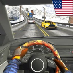 Highway Driving Car Racing Game icon