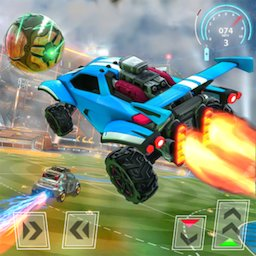 Image of Rocket Car Football Soccer League Champion