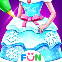 Image of Ice Princess Comfy Cake -Baking Salon for Girls