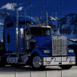 Image of Puzzle Kenworth Trailers Truck Games Free 🧩🚚🧩🚛