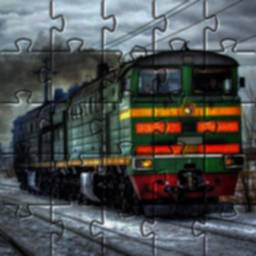 Image of Trains Jigsaw Puzzles Games Free 🧩🚅🧩🚂