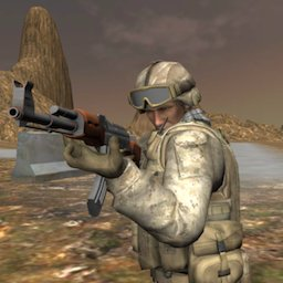 Image of American Soldier TPS Game: Shooting Games 2020