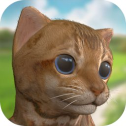 Image of Cute virtual pet kitten