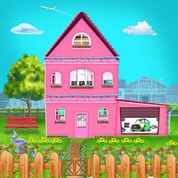 Image of Build Clean Fix Princess House -Fun Game for Girls